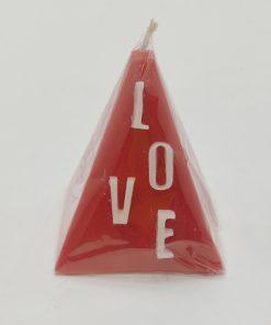 شمع ولنتاین مثلثی