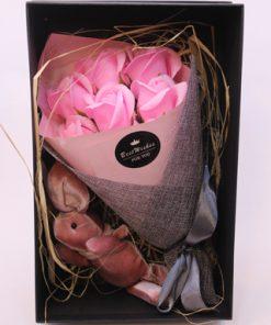 پک هدیه ولن،گل های جعبه دار
