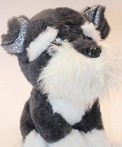 عروسک سگ پشمالو